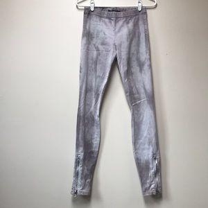 Joes jeans purple tyedye jegging size small